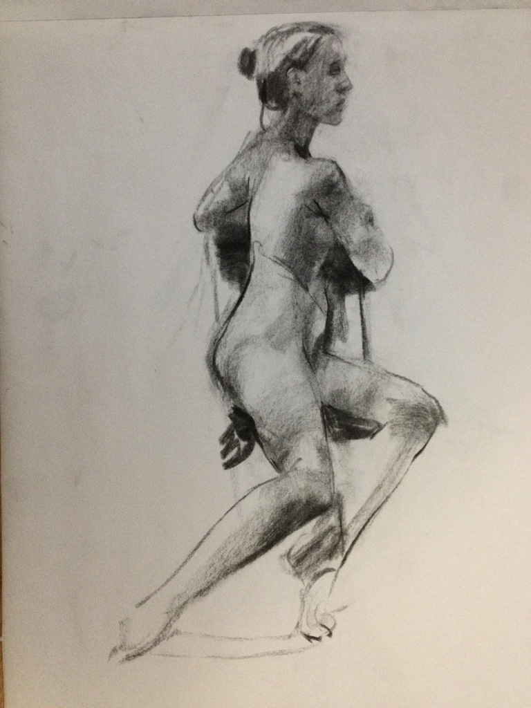Figure drawing at CCP