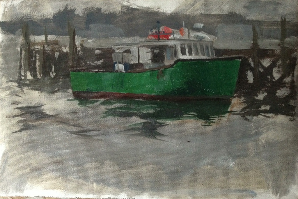 Boat in Portsmouth