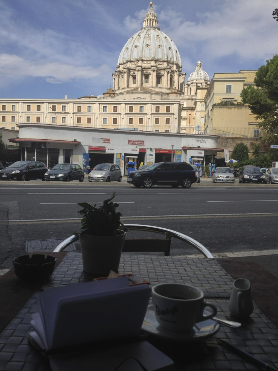 Americano at the Vatican