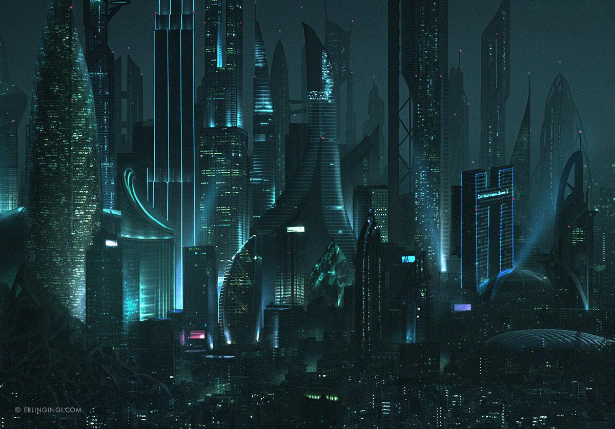 Futuristic LA