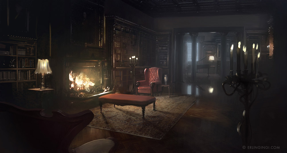 Vampire Mansion Interior